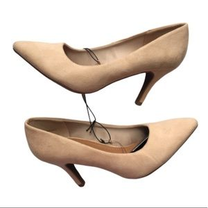 Forever 21 Faux Suede Pointed Toe Pumps